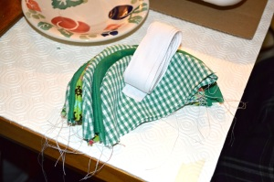 bunting making - 13