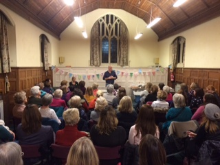 Bath WI December meeting with Richard Bertinet