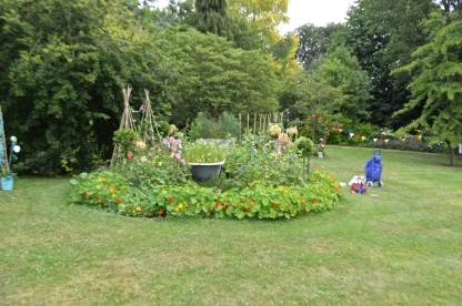 The garden in all it's glory