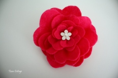 Felt Flowers 074